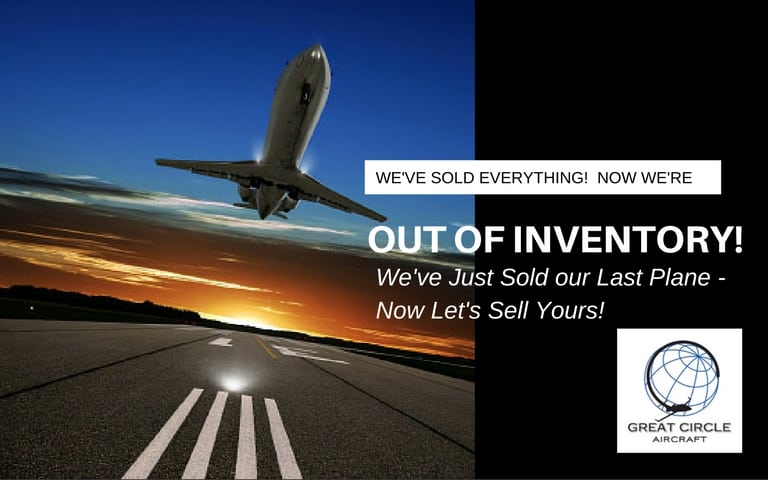 Business Jet Sales - Out of Inventory
