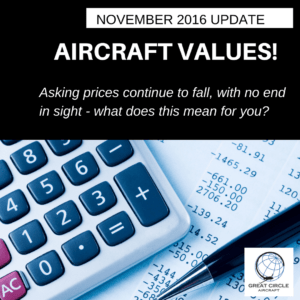 aircraft market update November 2016