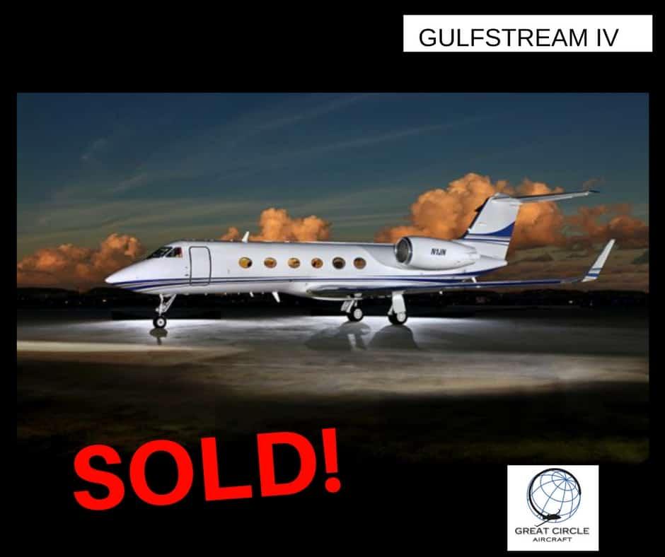 Gulfstream IV Business Jet