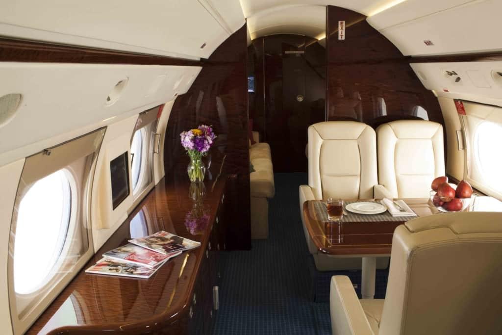 Gulfstream IV Interior_Mid-to-Aft