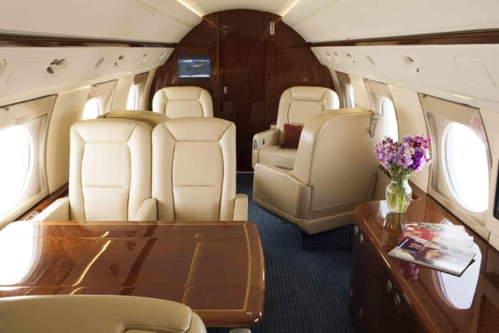 Gulfstream IV Interior_Mid-to-Fwd
