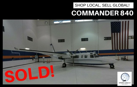 Aircraft for sale - Commander 840