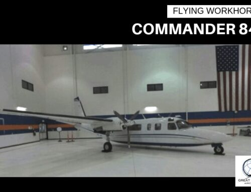 Commander 840 – ADS-B Compliant!