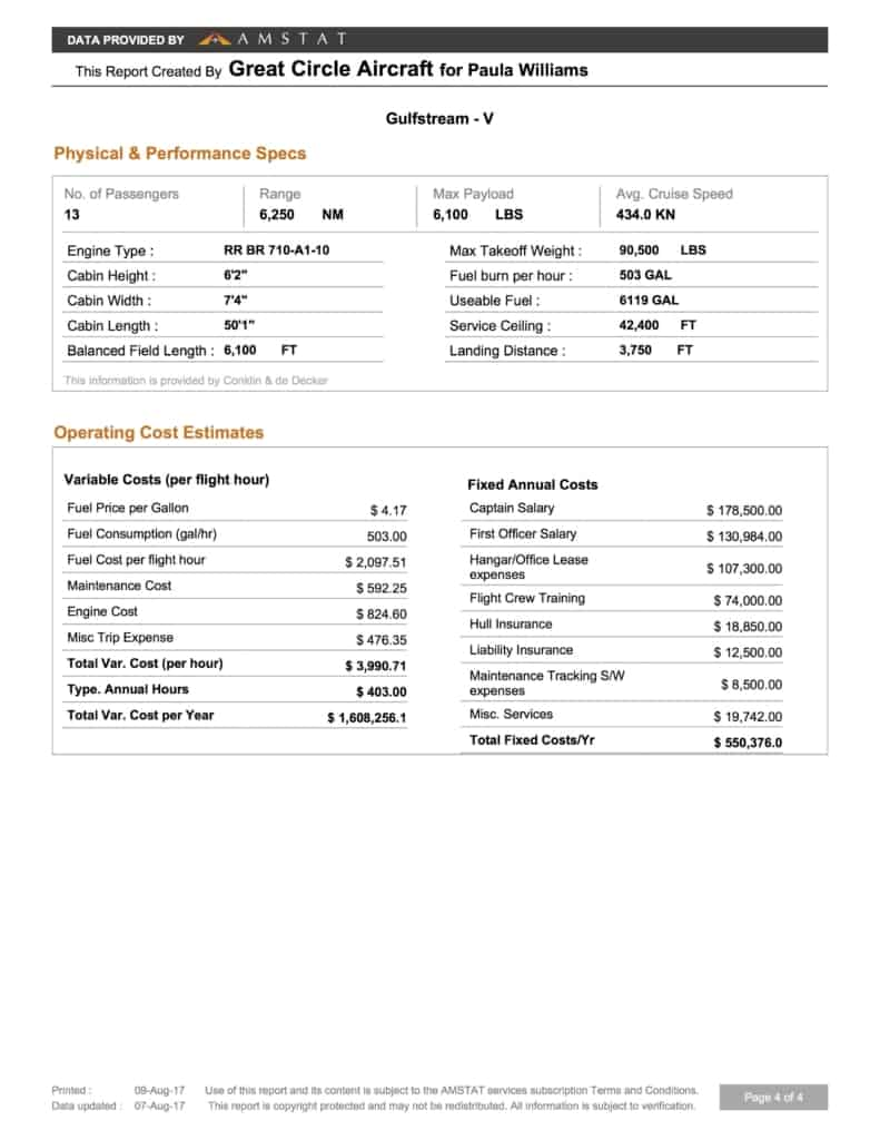 Sample Aircraft Market Report - Page 3