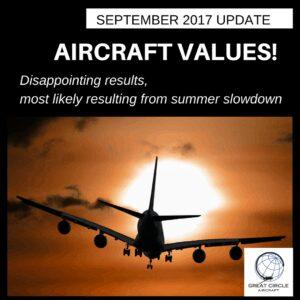 September Aircraft Values