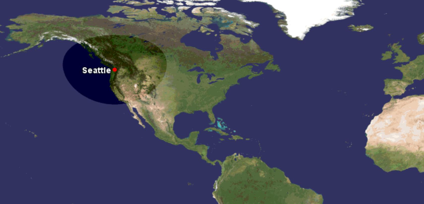 Commander 840 range from Seattle 875 nauticual miles