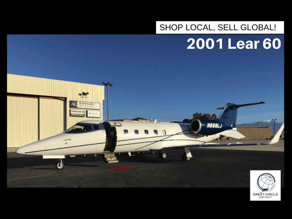 2001 Lear 60