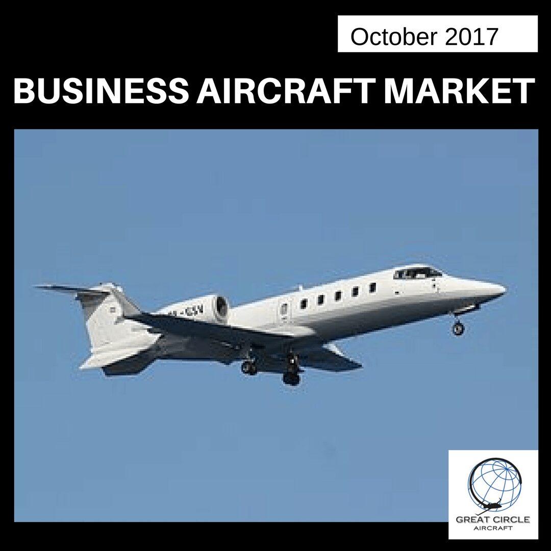 October 2017 Aircraft market Update