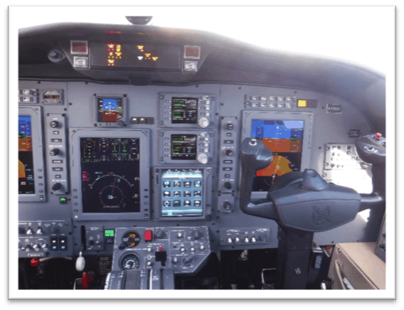 Citation CJ1+ Cockpit