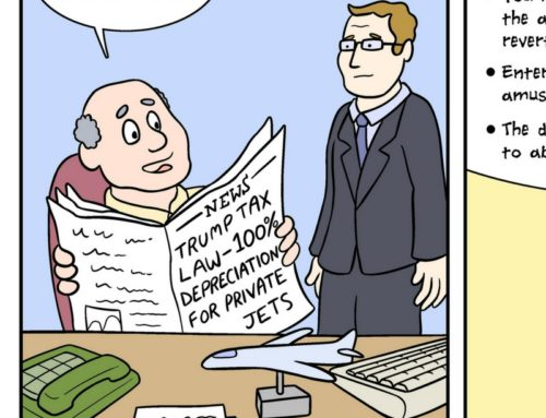 Cartoon – Trump Aircraft Depreciation Changes