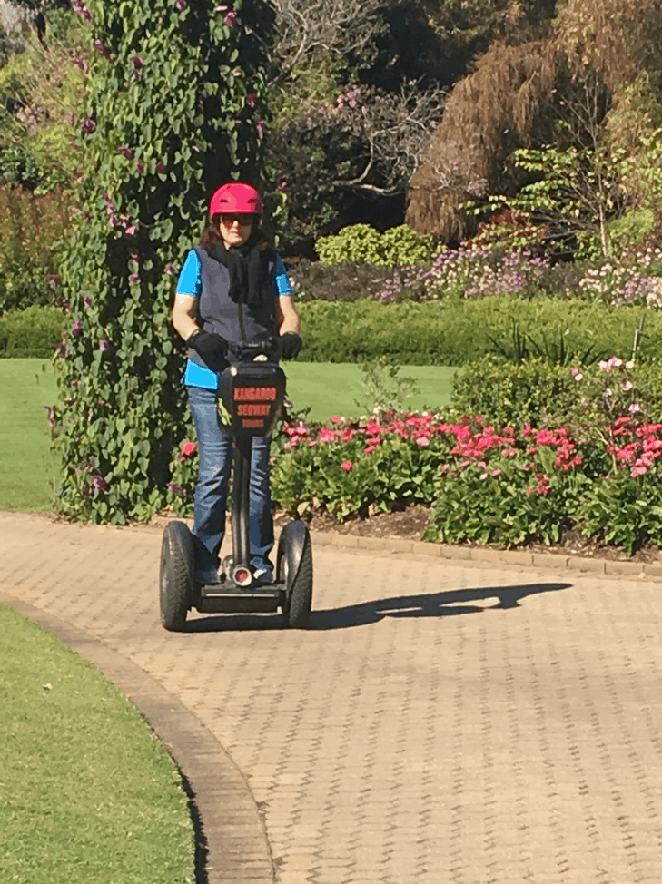 Clow family update - segway tour