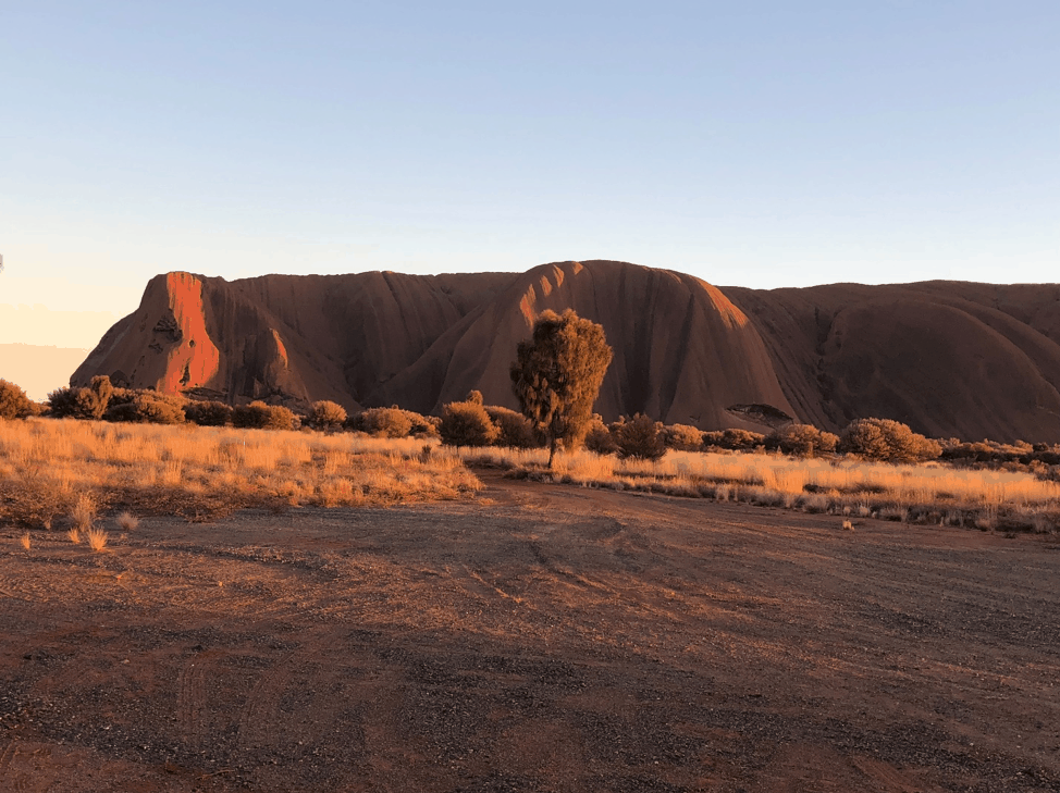 Clow Family Update - Australia - Ayers Rock at Sunrise