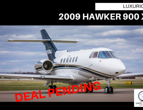 2009 Hawker 900XP – Deal Pending