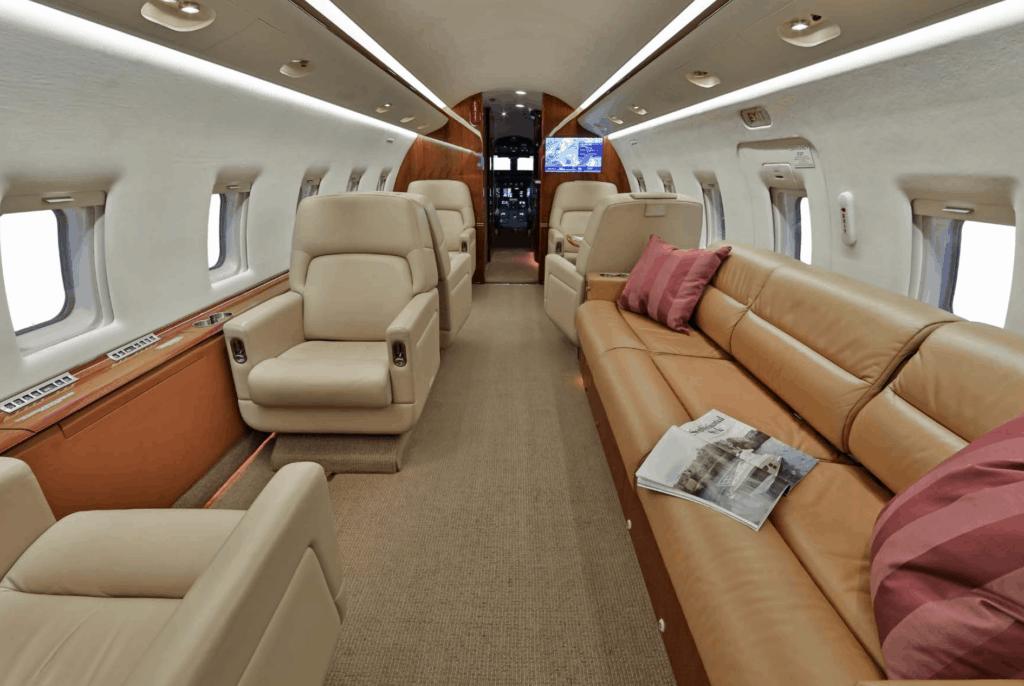 2004 Bombardier Challenger 604 Interior Forward