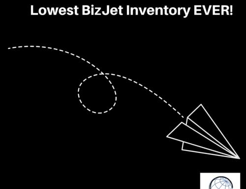 Business Jet Market Update October 2021 – Lowest Inventory Levels Ever
